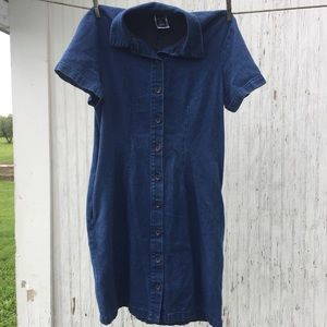Lands' End, Dress, Size 8, Blue